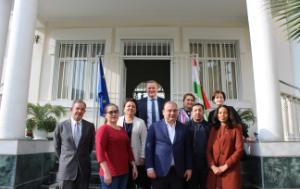 DCAS Delegation - 8th EU-Tajikistan PCC in Dushanbe, Tajikistan 2019