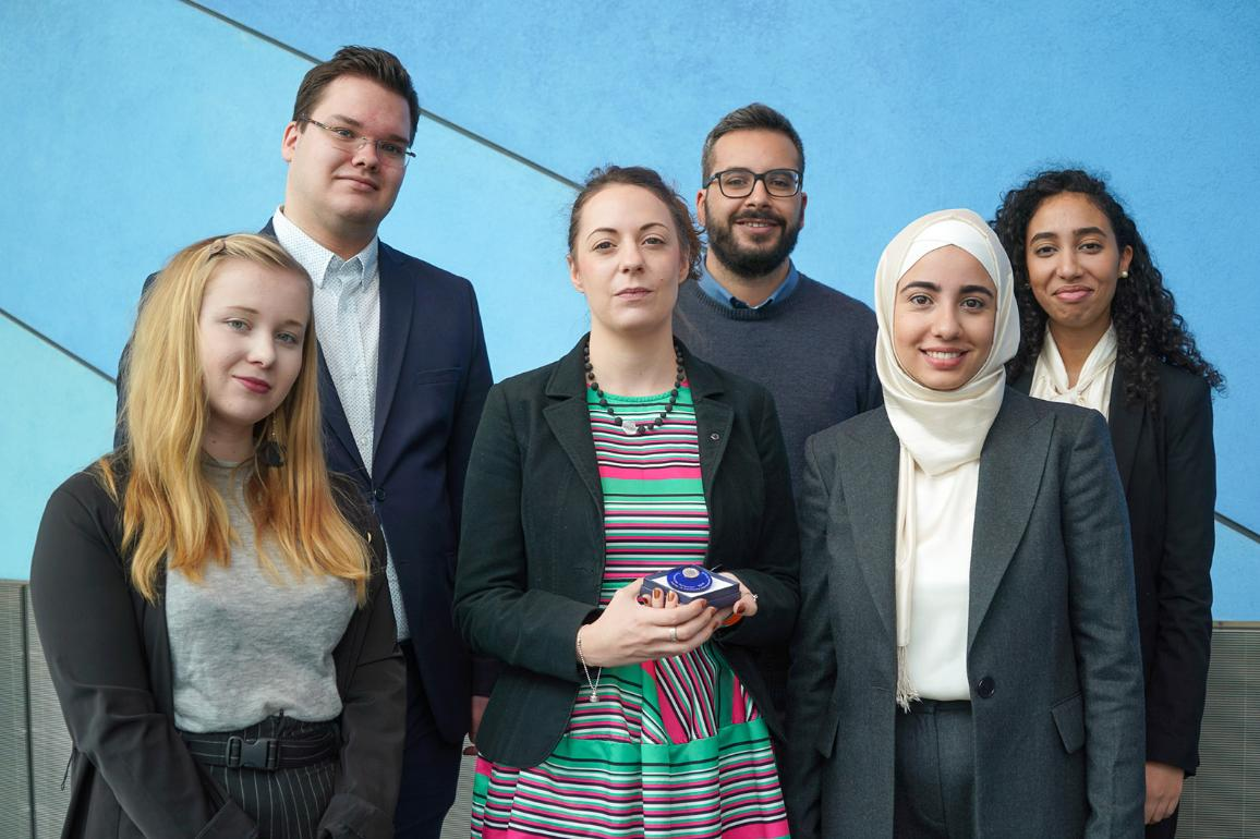 Winners of the 2019 Charlemagne Youth Prize