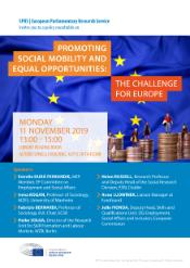 EPRS event on 11 November: Promoting social mobility and equal opportunities