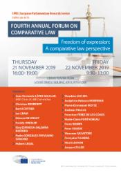 4th annual forum on comaparative law - 21-22 November