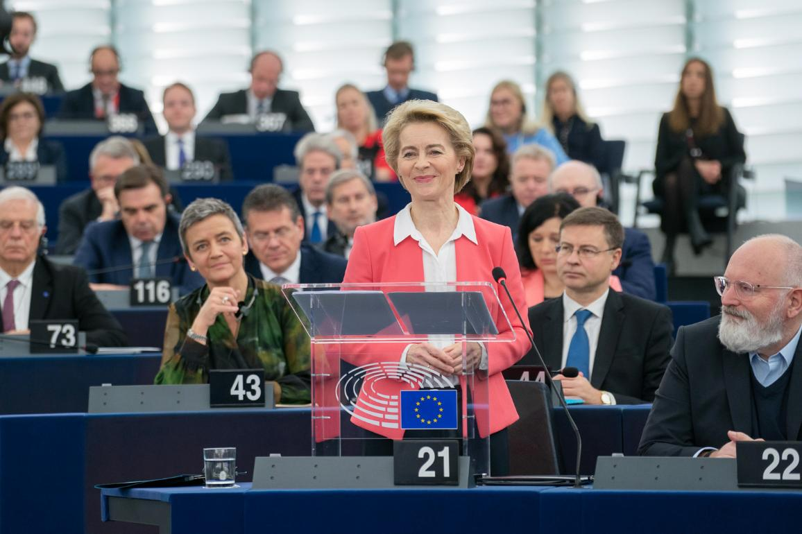 Parliament elects the von der Leyen Commission