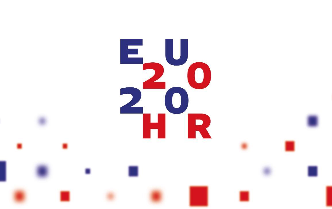 Logo of the Croatian EP Presidency 2020