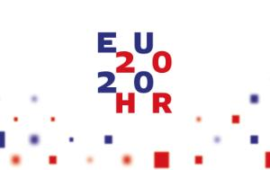 Logo of the Croatian EP Presidency 2020