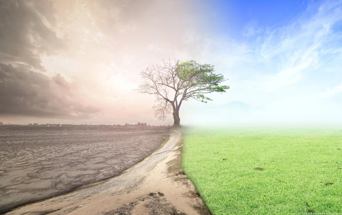 Climate change concept © 123RF/European Union–EP