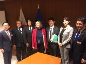 SEDE Chair Nathalie Loiseau meets Japanese Delegation