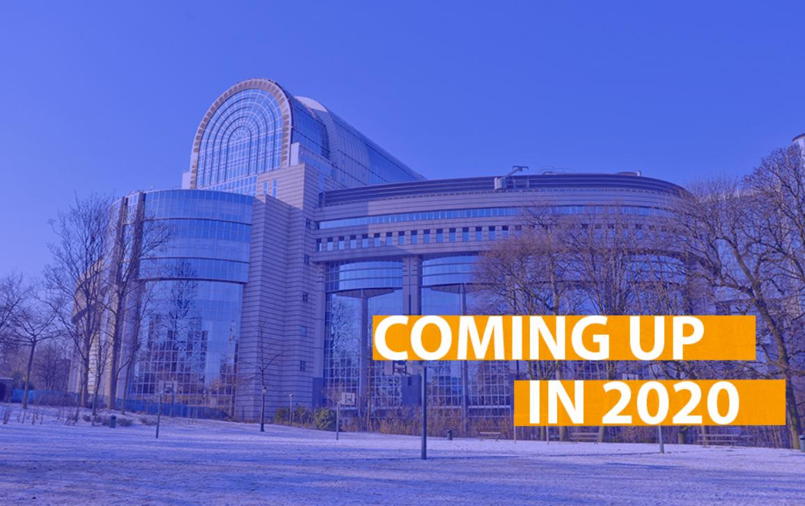 Parliament has a busy year ahead voting on the European Green Deal, new rules for a digital Europe and the EU's 2021-2027 budget. Updates to the banking union, a trade deal with Vietnam, EU enlargement and more are all on the agenda for 2020!