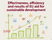 "Poster to announce hearing on ""Effectiveness, efficiency and results of EU aid for sustainable development"""