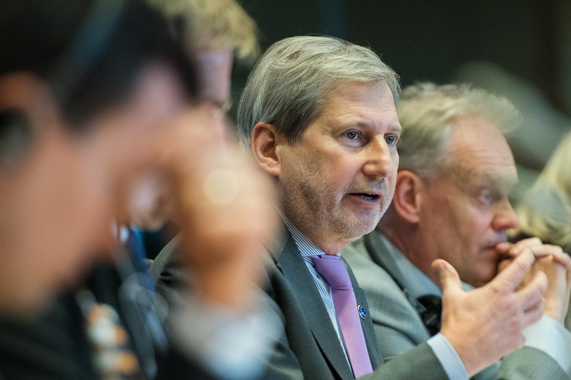 Commissioner Hahn in Budget Committee_