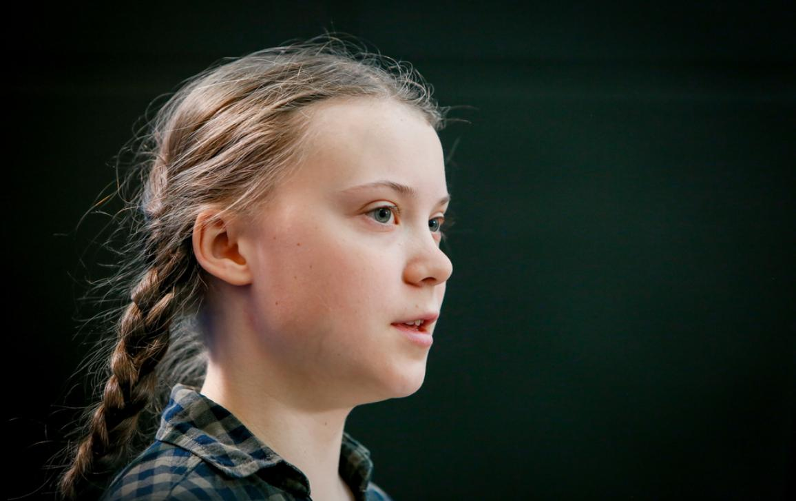 Visit of Greta THUNBERG