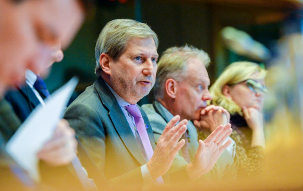 Johannes Hahn, Commissioner for Budget and Administration
