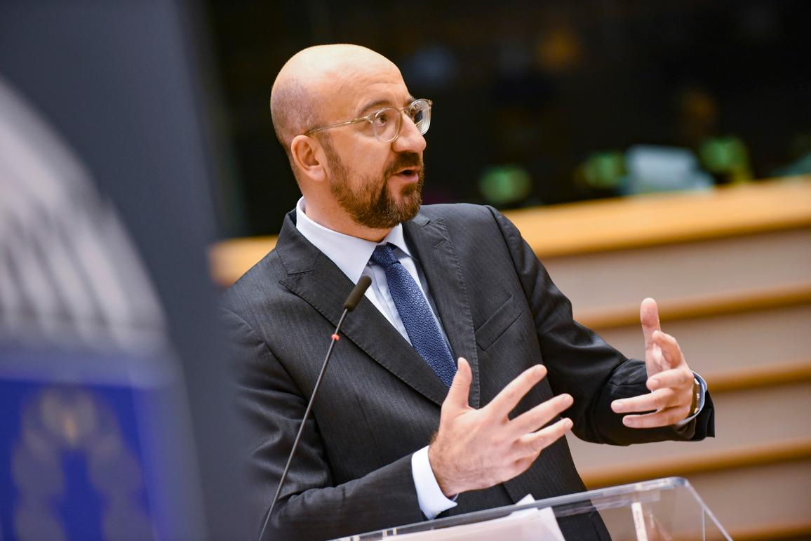 European Council President Charles Michel acknowledges failure of recent EU budget summit in plenary