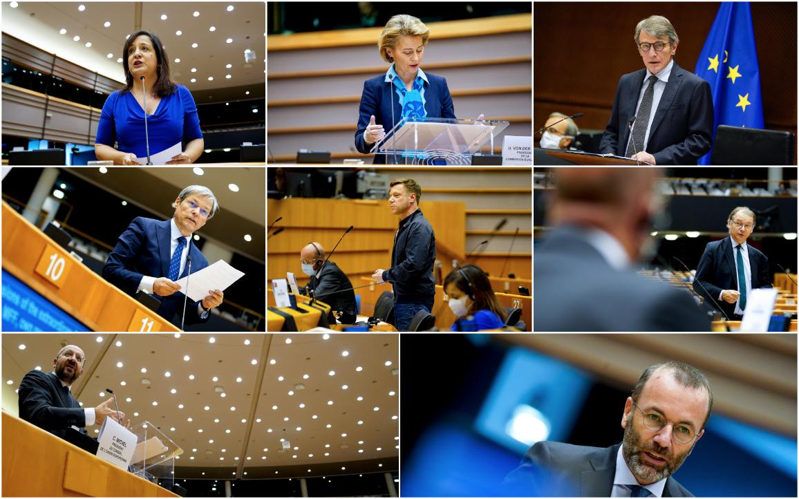 MEPs will fight for an EU budget commensurate with the challenges of the COVID-19 fallout @EU-EP 2020/DLL ©EU-EP 2020/DLL