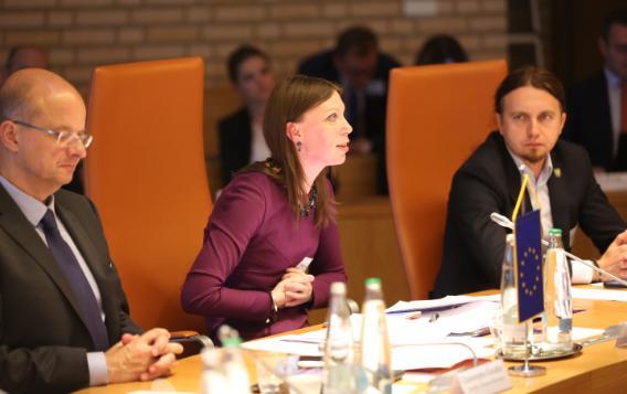 53rd EEA JPC meeting, EP delegation members