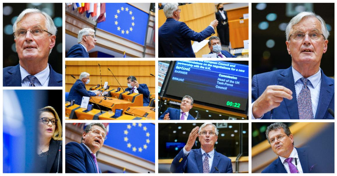 MEPs debated with Council and Commission ahead of EU summit on EU-UK relations and EU financing © EP -DLL