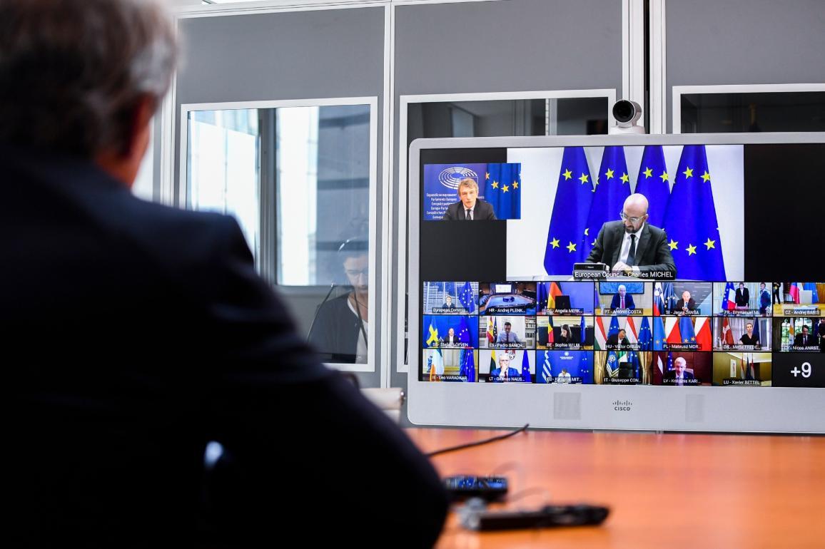 European Parliament President Sassoli to EUCO: Next Generation EU is the essential basis for negotiations