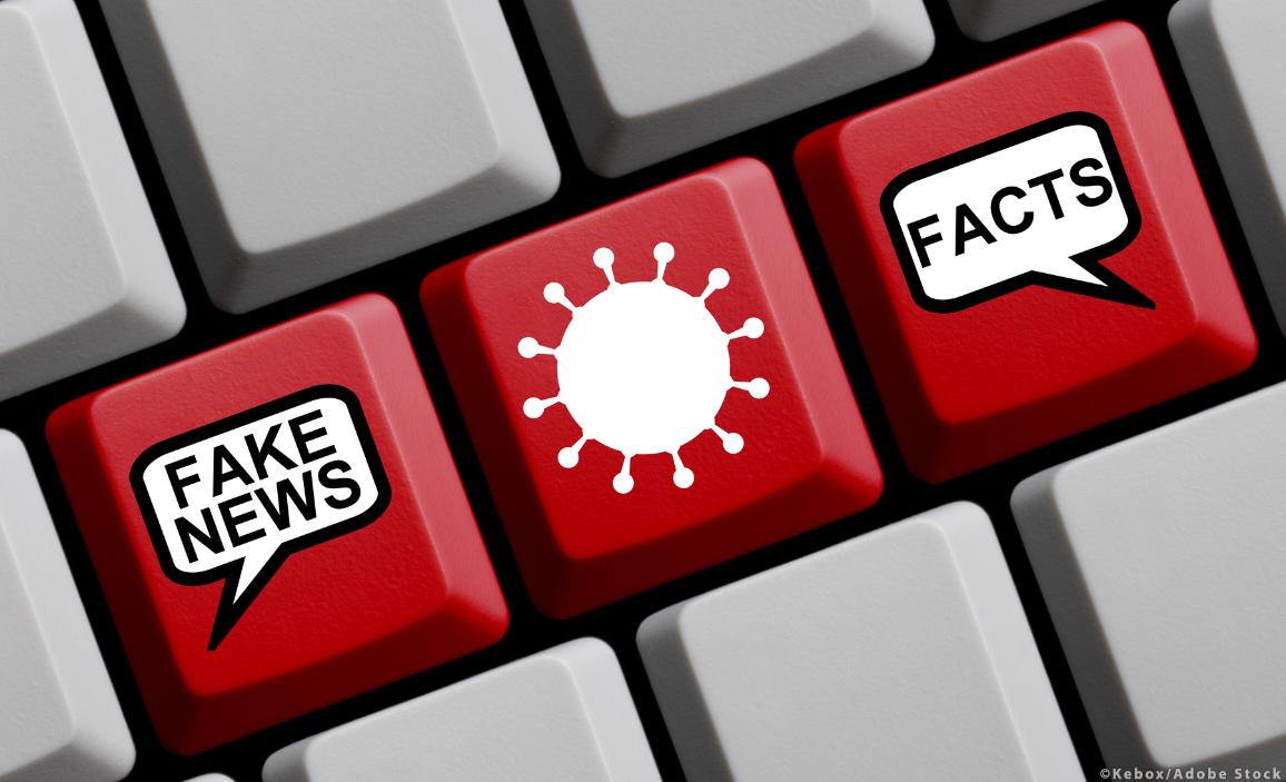 Fake news or facts about the Coronavirus? ©Kebox/AdobeStock