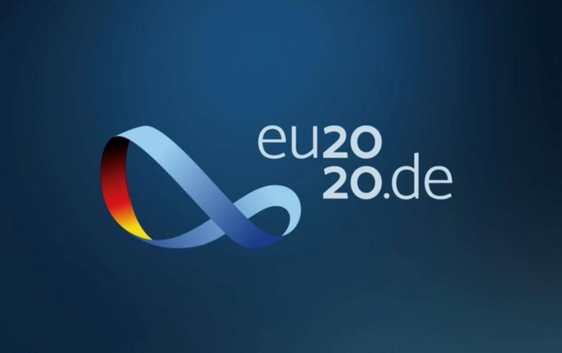 EU2020.de logo of the EU German Presidency 2nd Half 2020