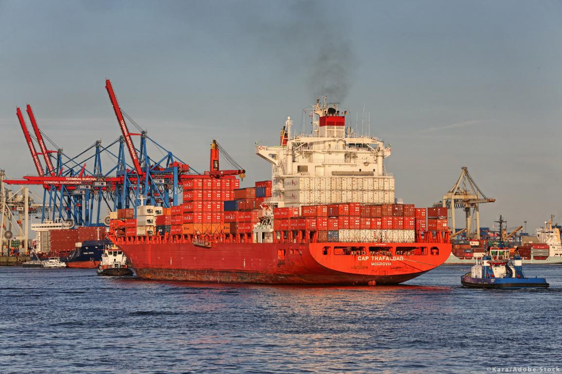 Parliament wants a 40% reduction in CO2 emissions from the shipping industry by 2030 ©Kara/Adobe Stock
