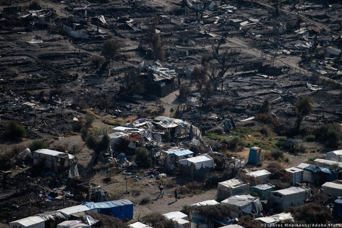 Миграционна политика на ЕС: Хиляди мигранти трябваше да бъдат преместени от изгорелия лагер на гръцкия остров Лесбос