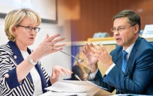 Hearings of designate Commissioners: Mairead McGuinness (Ireland) and Valdis Dombrovskis (Latvia)