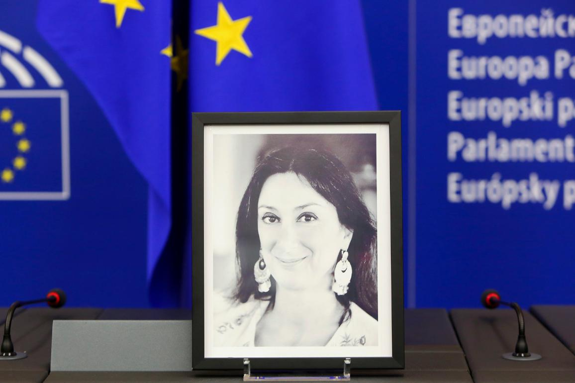 On the 16th October 2017, the Maltese investigative journalist Daphne Caruana Galizia  was killed in a car bomb explosion.