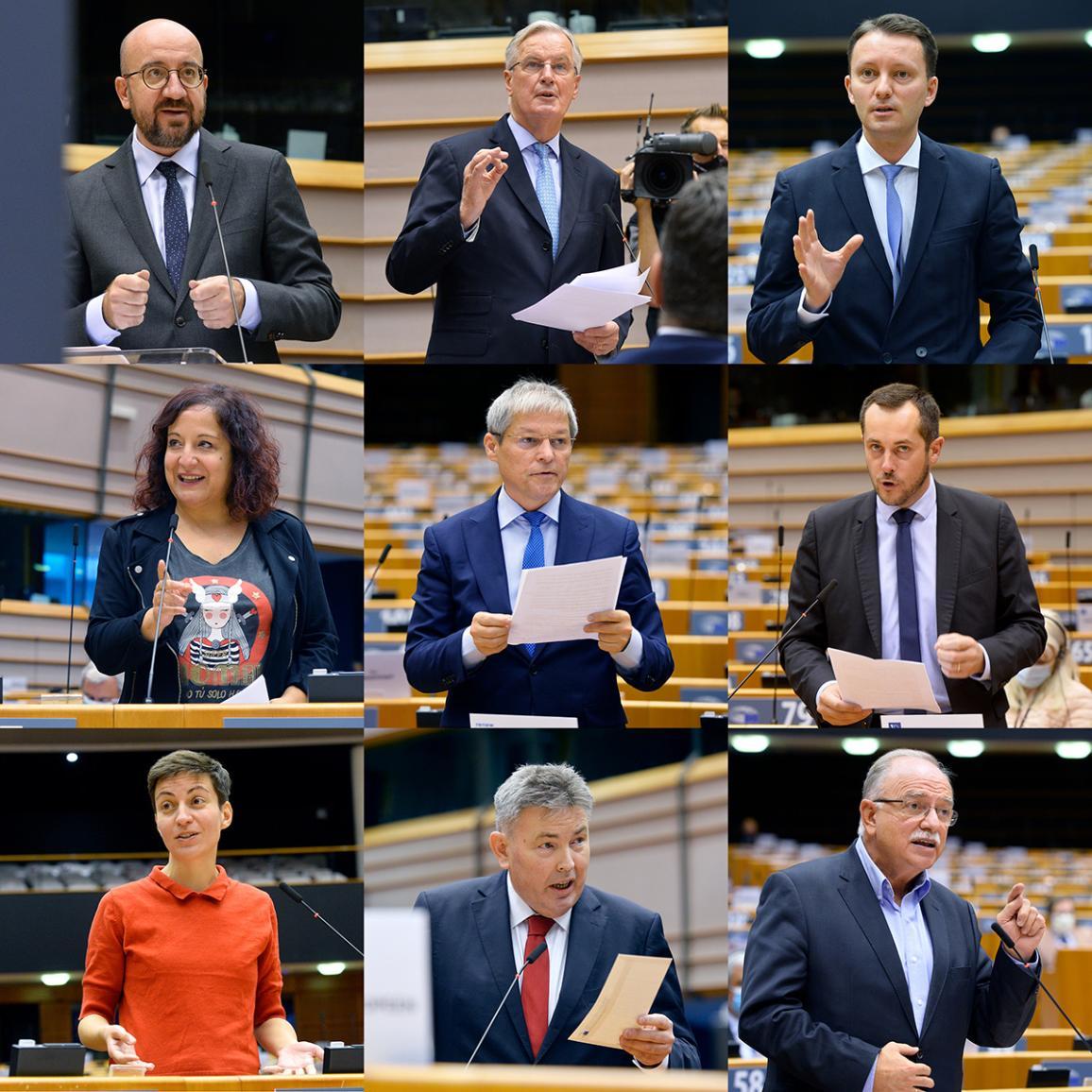 Plenary debate of 21 October 2020