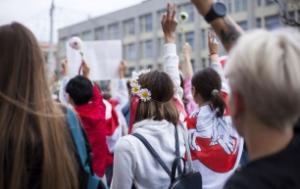 Women's fight in Belarus