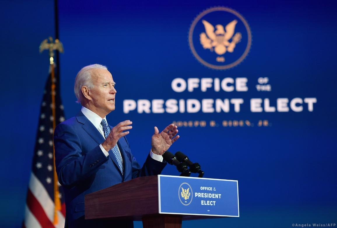 Joe Biden, président élu des États-Unis