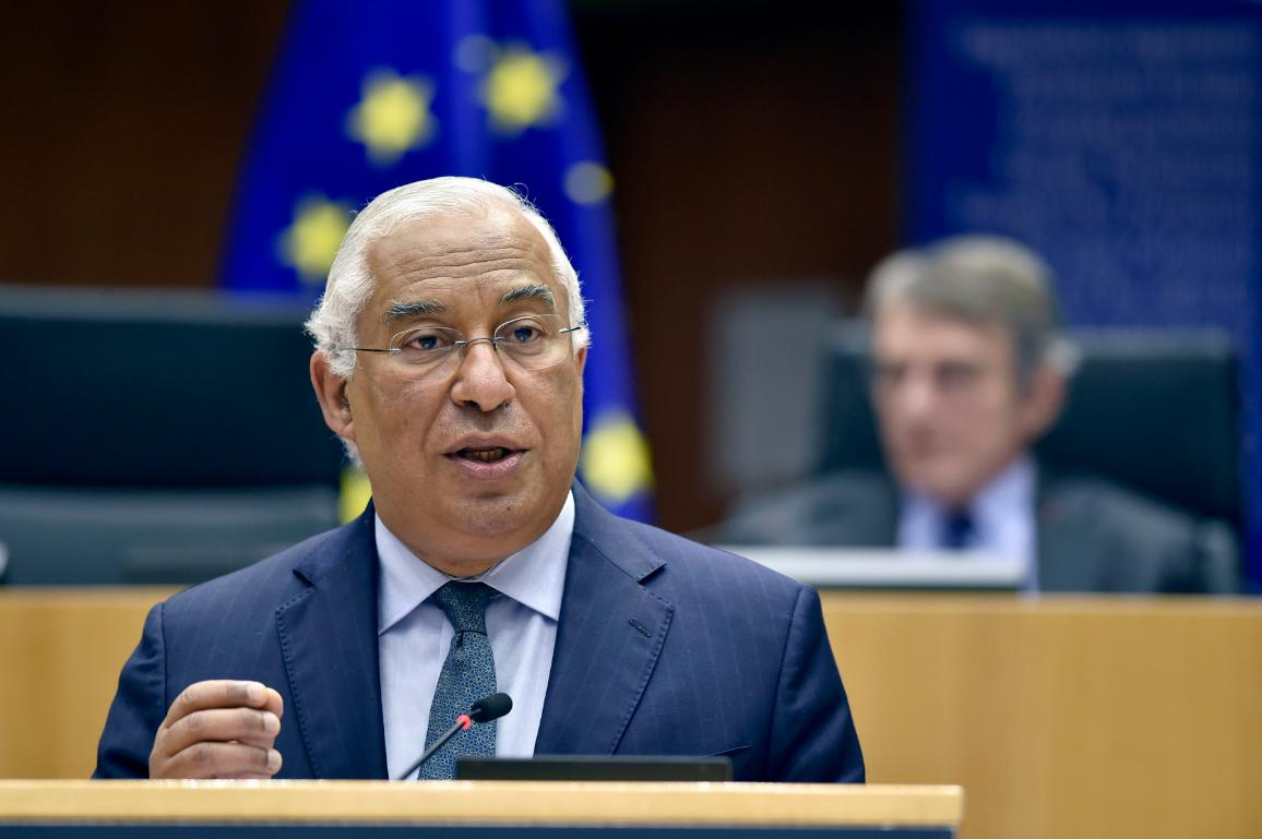 Portuguese Prime Minister Antonio Costa presented today in plenary the program of activities of the Portuguese Presidency