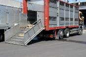 Lorry, ready for loading goods