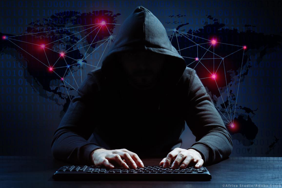 Online radicalization illustration image