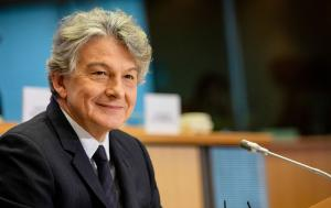Thierry Breton, Commissioner for Internal Market