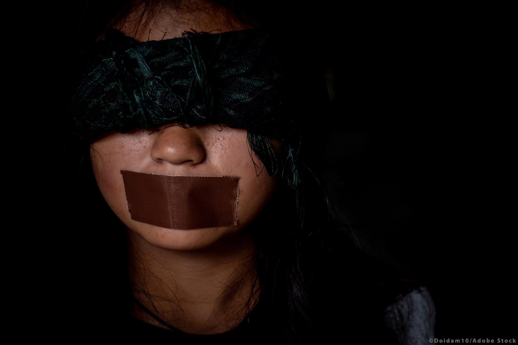 Plus de 14 000 victimes de la traite des êtres humains ont été enregistrées dans l'UE entre 2017 et 2018. ©AdobeStock/doidam10