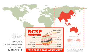RCEP free trade zone agreement