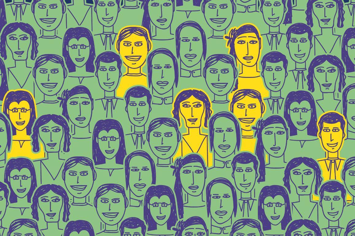 L'immagine rappresenta i potenziali cittadini che possono candidare i propri progetti al Premio del cittadino europeo 2021