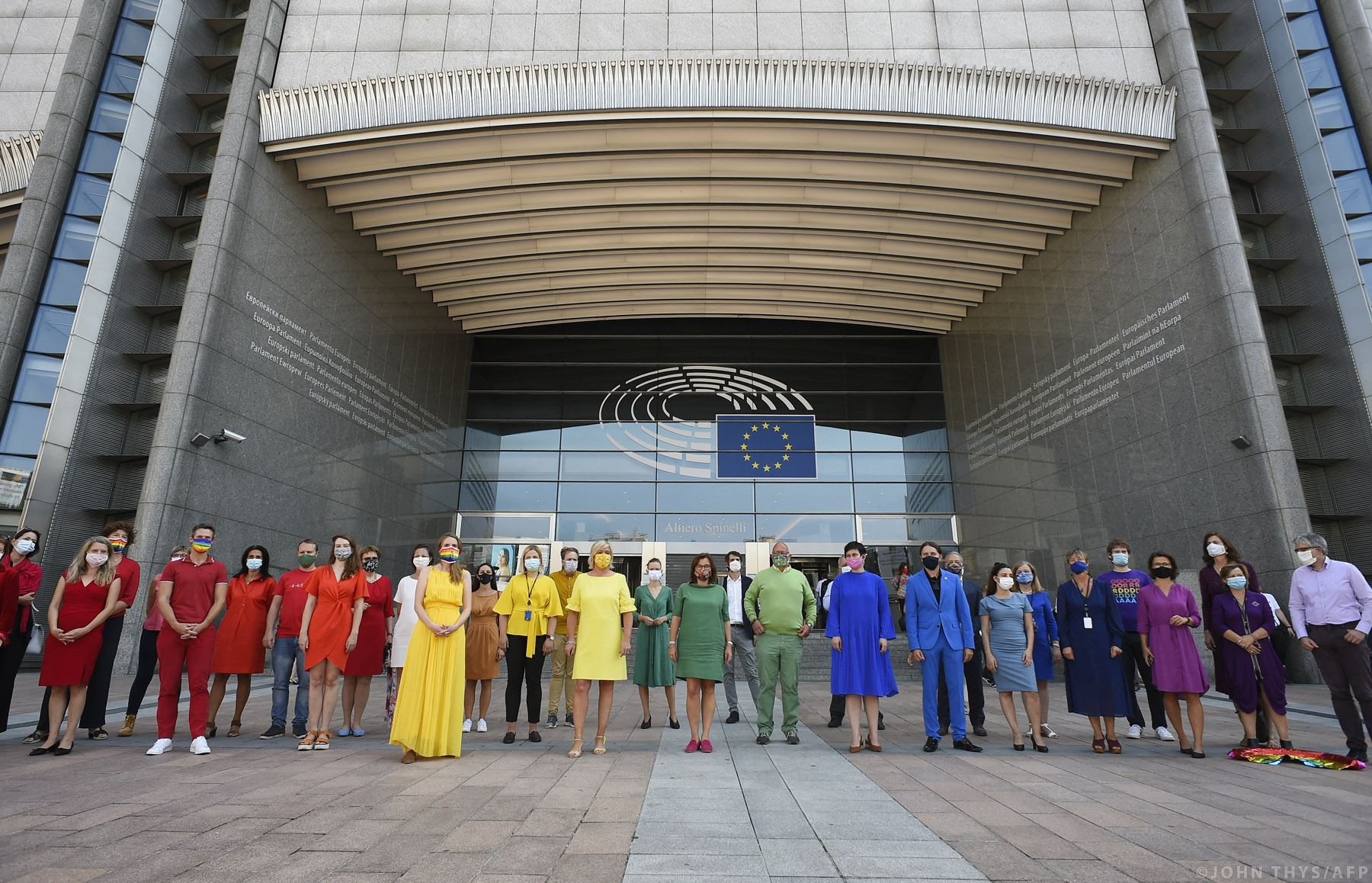 El Parlamento declara la Unión Europea «zona de libertad para personas  LGBTIQ» | Noticias | Parlamento Europeo