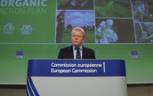 Commissioner Janusz Wojciechowski presenting the EU's long-awaited organic action plan