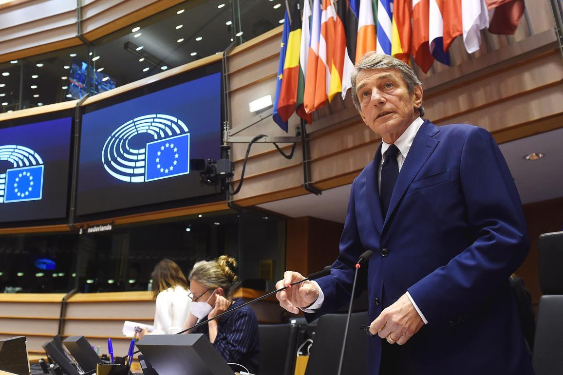 President Sassoli opened the May plenary session