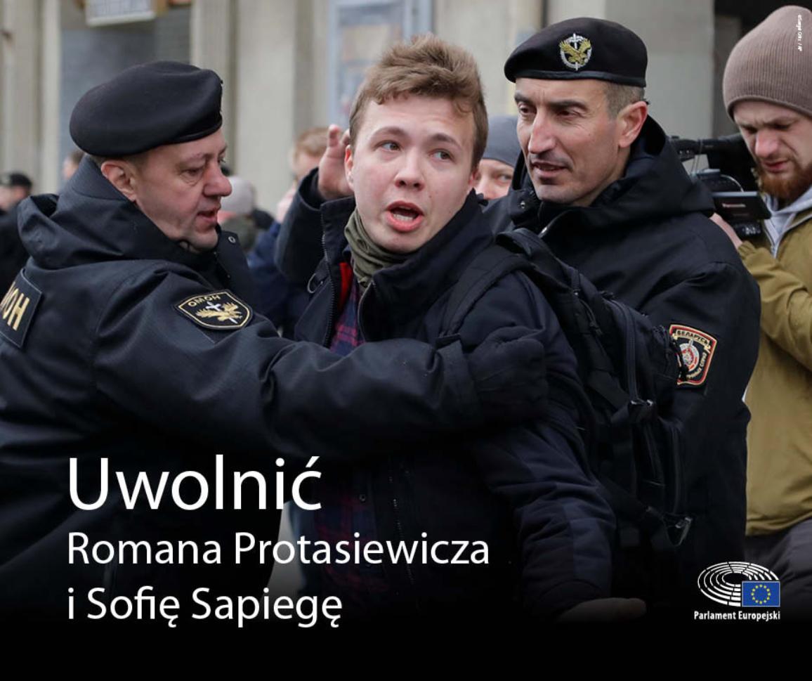 Uwolnić Romana  Protasiewicza i Sofię Sapiegę.