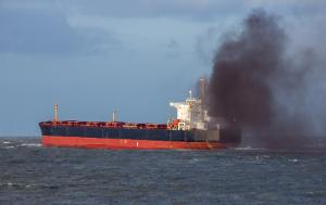 Air pollution caused by ship