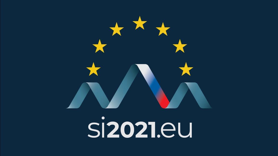 Лого на словенското председателство на Съвета на ЕС