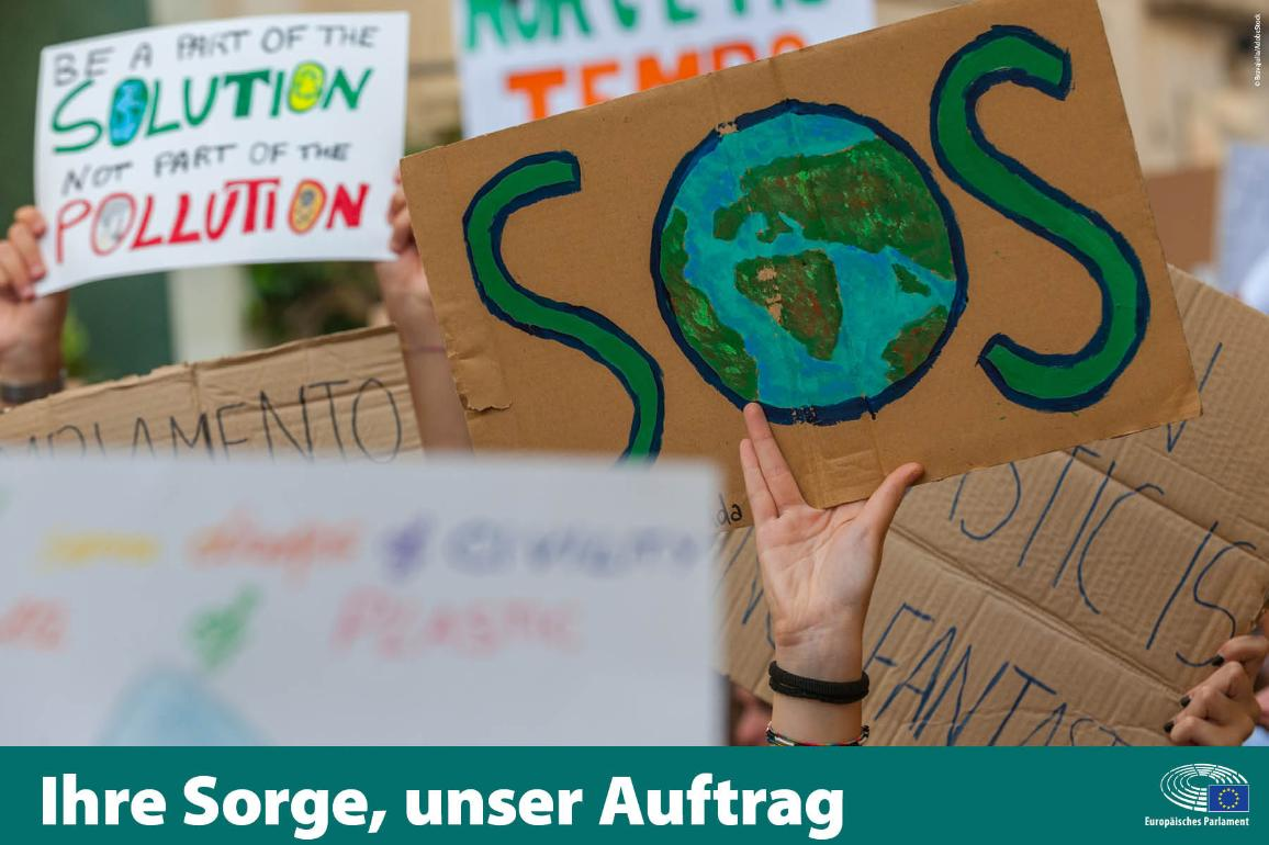 Die Bekämpfung des Klimawandels ist eine der wichtigsten Prioritäten der EU