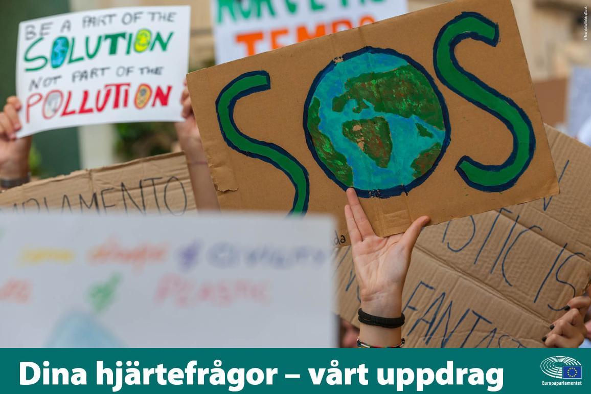 Demonstration för klimatet