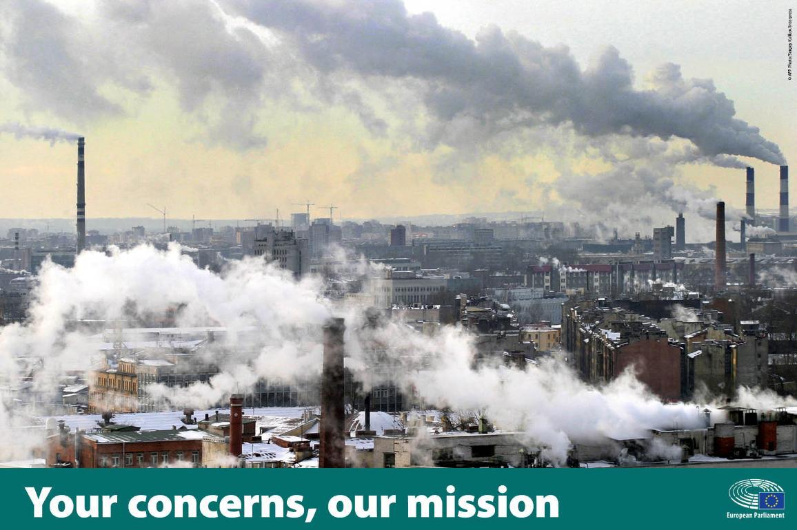 Photo of factories spewing smoke