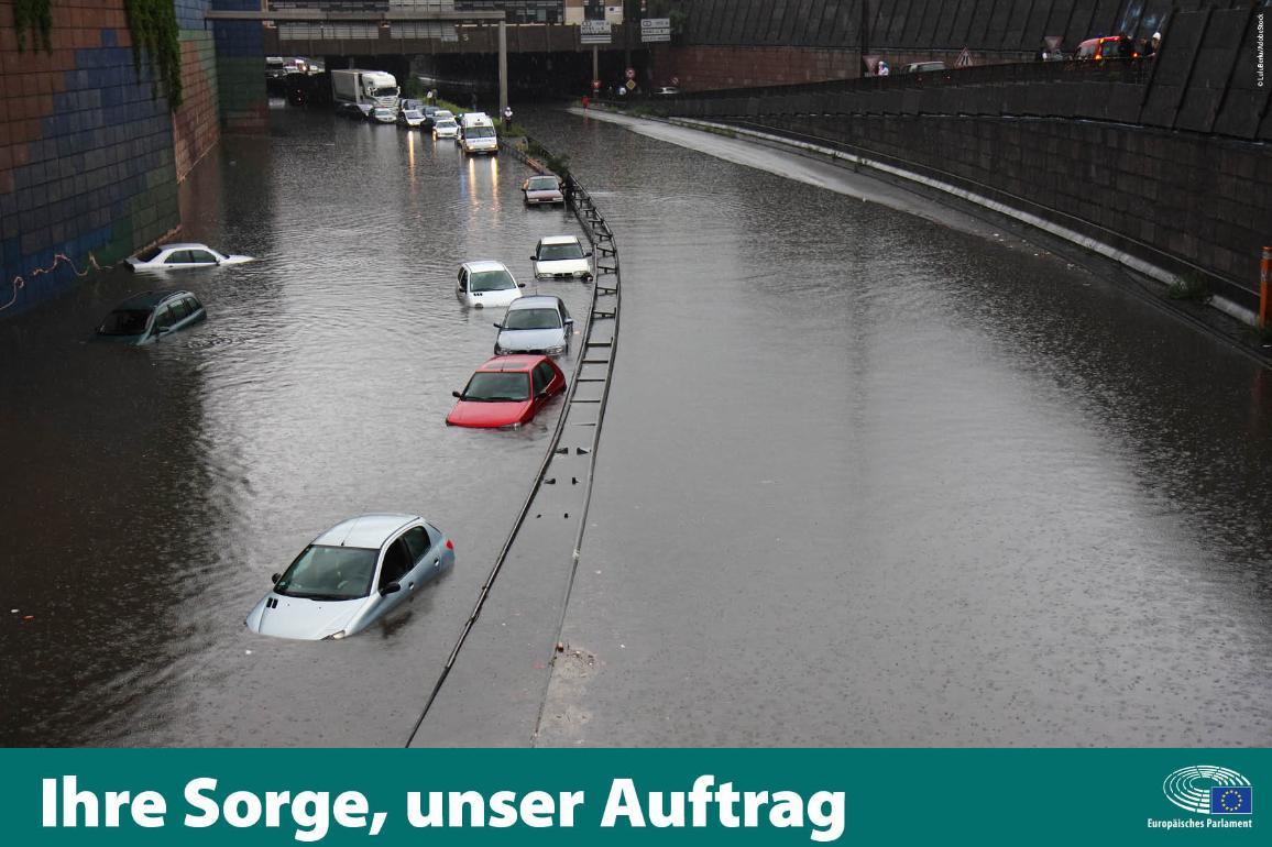 Die Bekämpfung der Auswirkungen des Klimawandels ist eine wichtige Priorität der EU