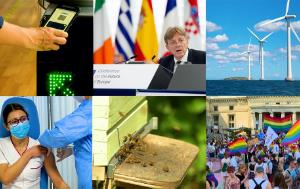 Article - Premier semestre de 2021 : Covid-19, Conférence sur l'avenir de l'Europe, loi climat