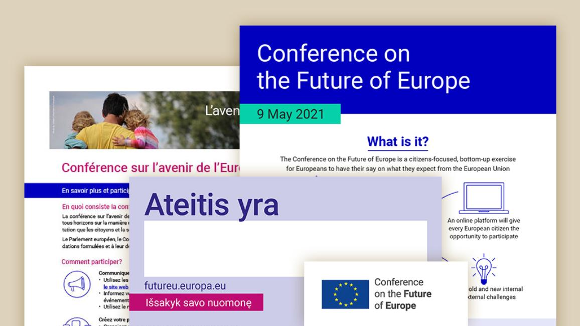 Conference on the Future of Europe - Other formats - Thumbnail