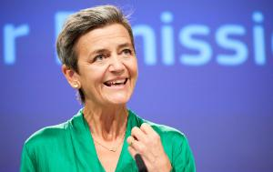 Image shows Margrethe Vestager, Executive Vice-President for A Europe Fit for the Digital Age and Competition, European Commission, giving a speech