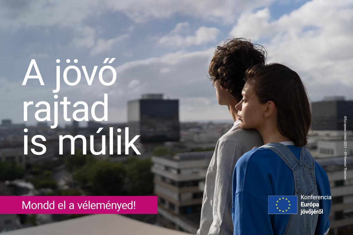 Konferencia Európa jövőjéről illusztráció
