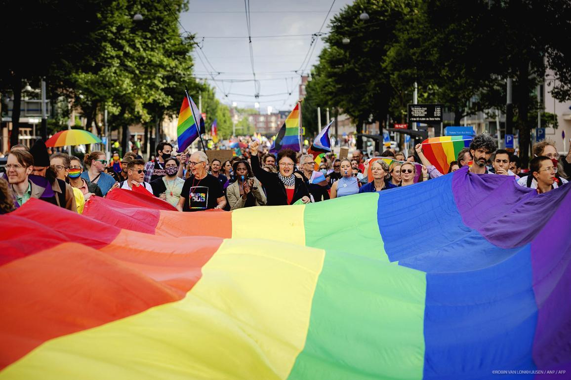 LGBT Demonstration in Netherlands